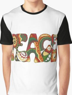 Vintage Psychedelic Peace Graphic T-Shirt
