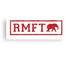 Vintage RMFT - light Canvas Print
