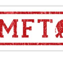 Vintage RMFT - light Sticker