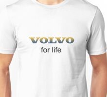 Swedishly Volvo. For Life logo Unisex T-Shirt