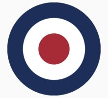 RAF Royal Air Force roundel; British Aircraft pure & simple by TOM HILL - Designer