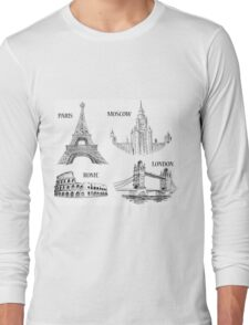 World Landmark 578 Long Sleeve T-Shirt