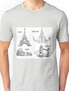World Landmark 578 Unisex T-Shirt