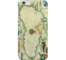 Vintage Map of The Black Sea (1559) iPhone Case/Skin