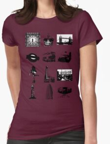 Britain 578 Womens Fitted T-Shirt