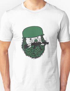 lachen gesicht lustig comic cartoon kind baby nachwuchs süßer kleiner niedlicher igel  Unisex T-Shirt