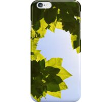 Leaves to the Sky iPhone Case/Skin