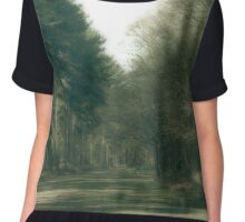 Classic Antique Trees Number 3 Chiffon Top