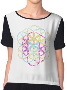Coldplay Chiffon Top