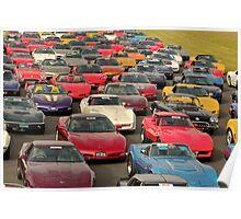 Corvette Heaven Poster