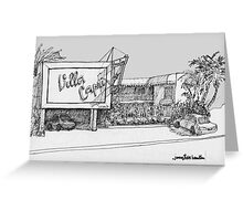 A Coronado Island Motel Greeting Card