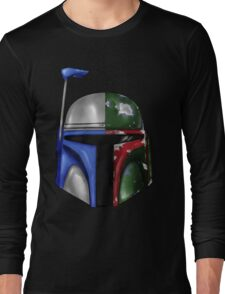 Jango/Boba Fett Helm Long Sleeve T-Shirt