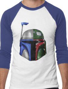 Jango/Boba Fett Helm Men's Baseball ¾ T-Shirt