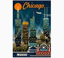 """CHICAGO"" Vintage Travel Advertising Print Unisex T-Shirt"