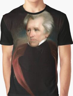 Andrew Jackson US President Graphic T-Shirt