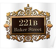 221b Baker st. Poster