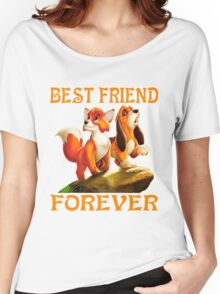 The fox and the hound Women's Relaxed Fit T-Shirt