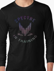 Mass Effect - SPECTRE in Training (Color) Long Sleeve T-Shirt