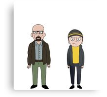 Walt and Jesse Metal Print
