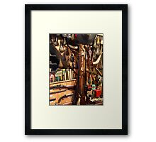 Gun Collector Framed Print