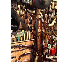 Gun Collector Photographic Print