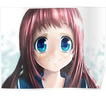 Kawaii Girl Anime Poster