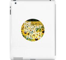 sunflower jimmy fallon iPad Case/Skin