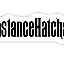 Constance Hatchaway Hashtag Sticker
