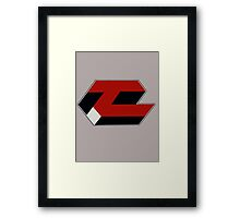 TerraCo trademark (Android) Framed Print