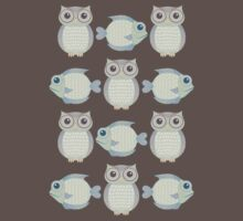 Owls & Fish Kids Clothes