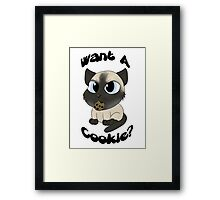 My Favorite Murder - Want a Cookie? Framed Print