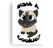 My Favorite Murder - Want a Cookie? Canvas Print