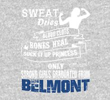 Girls Graduated From Belmont Womens Fitted T-Shirt
