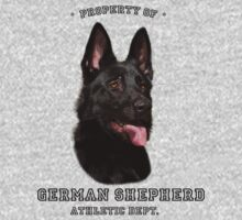 German Shepherd Athletic Dept. by Megan Noble