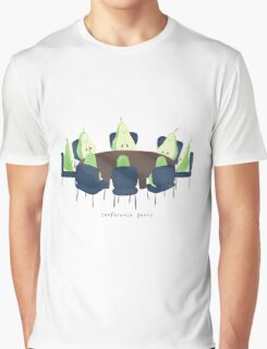 Conference Pears Graphic T-Shirt