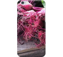 Farmers' Market- beets iPhone Case/Skin