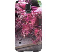 Farmers' Market- beets Samsung Galaxy Case/Skin