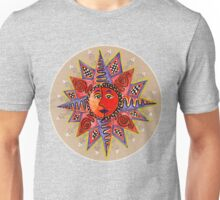 Sunface with squiggles Unisex T-Shirt