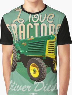 Tractor_Oliver88_01 Graphic T-Shirt
