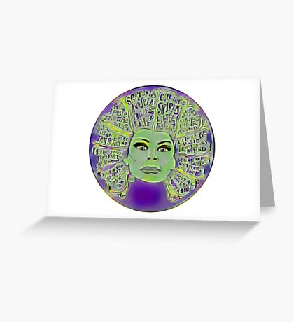 Madame Leota Greeting Card