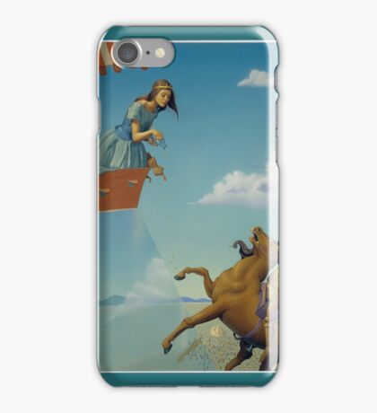 CINDERELLIS AND THE GLASS HILL iPhone Case/Skin