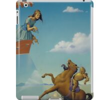 CINDERELLIS AND THE GLASS HILL iPad Case/Skin
