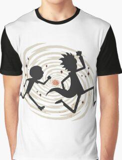 running rickmorty Graphic T-Shirt