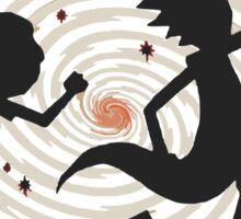 running rickmorty Sticker
