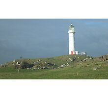 Cape Road Lighthouse Photographic Print
