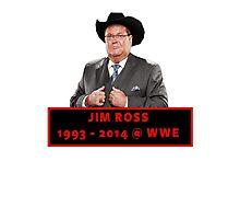 Jim Ross (1993 - 2014 WWE) Photographic Print