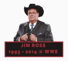 Jim Ross (1993 - 2014 WWE) by LandoDesign