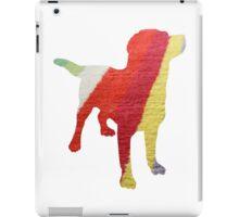 Stripy Dog iPad Case/Skin