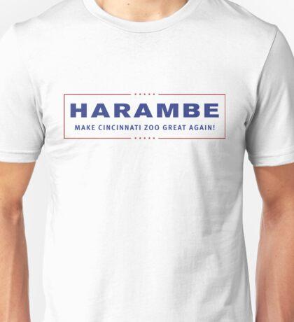 Harambe Trump Logo Unisex T-Shirt