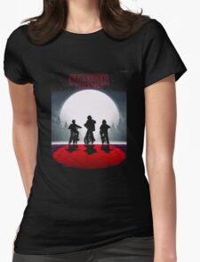 The stranger Things original series Womens Fitted T-Shirt